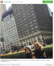 Σεφερλής-Τσαβαλιά: Οι πρώτες εικόνες από το ταξίδι τους στη Νέα Υόρκη!