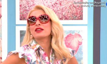 Ματιασμένη η Ελένη! Με γυαλιά ηλίου στην έναρξη της εκπομπής