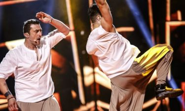 Eurovision 2016: Η δεύτερη πρόβα των Argo και το ξεγύμνωμα του χορευτή