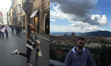 Πρέλεβιτς-Σαμπάνης: Φωτογραφίες από το Πάσχα τους στη Ρώμη