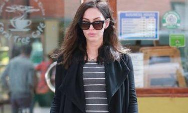 Megan Fox: Η κοιλίτσα της μεγαλώνει!