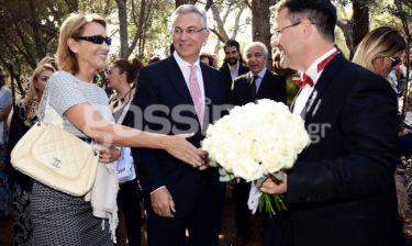 Ρουσόπουλος-Ζαχαρέα: Στο γάμο του καλού τους φίλου Ιωάννη Παναγιωτόπουλου