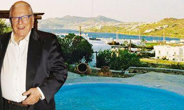 Ο Βουτσάς νοικιάζει την βίλα του στην Μύκονο για 400 ευρώ την βραδιά
