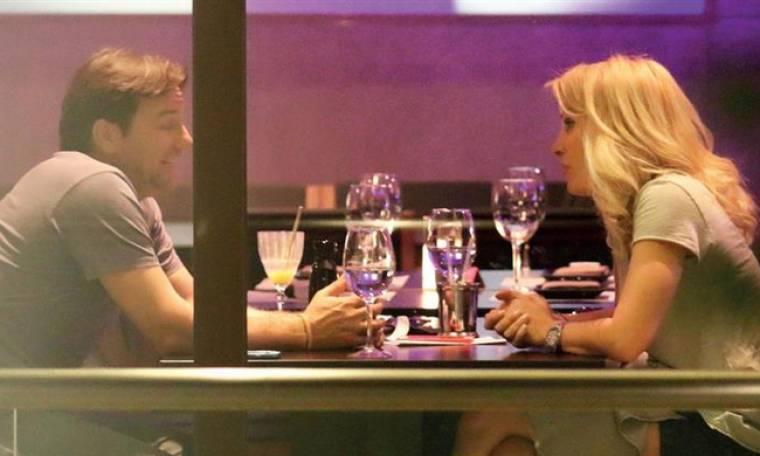 Mενεγάκη - Παντζόπουλος: Το ρομαντικό δείπνο (φωτό)
