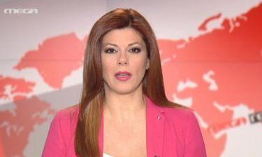 Η ανακοίνωση των δημοσιογράφων και των τεχνικών του Μega στο δελτίο ειδήσεων του καναλιού