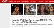 Eurovision 2016: Ποιος και γιατί κατηγορεί την Κύπρο για… αντιγραφή;