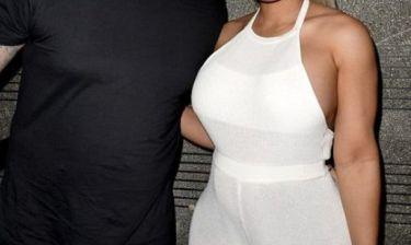 Το ζευγάρι στην πρώτη του επίσημη εμφάνιση μετά την ανακοίνωση της εγκυμοσύνης