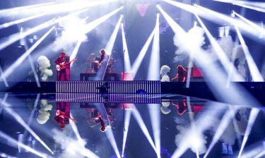 Eurovision 2016: Γεωργία: Με έντονους φωτισμούς και καπνούς εμφανίστηκε το συγκρότημα