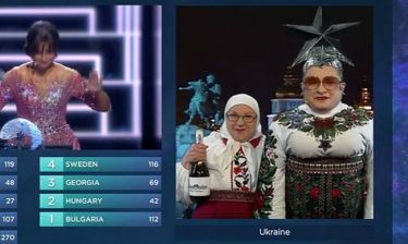 Eurovision 2016: Ο Βέρκα Σερντούσκα ψήφισε μαζί με τη μητέρα του