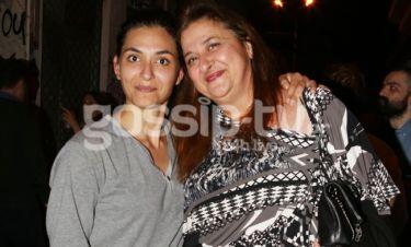 Η Ελισάβετ Κωνσταντινίδου καμάρωσε την κόρη της στο θέατρο