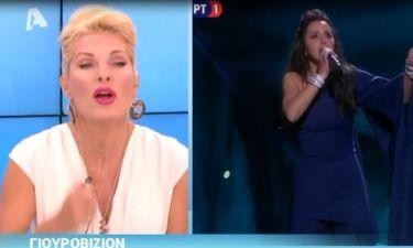 Η ατάκα της Ελένης Μενεγάκη για την Eurovision και τη νικήτρια χώρα