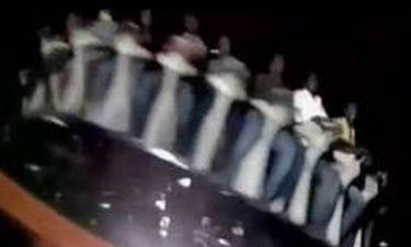 Βίντεο σοκ: Ξεκόλλησε ρόδα σε λούνα παρκ