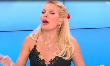 Χαμός στο μπαλκόνι της κρεβατοκάμαρας της Ελένης