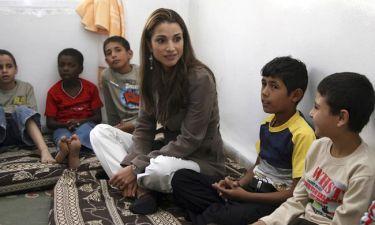Βασίλισσα Ράνια της Ιορδανίας: «Ένας ζωντανός θάνατος. Αυτό είδα  στη Λέσβο»