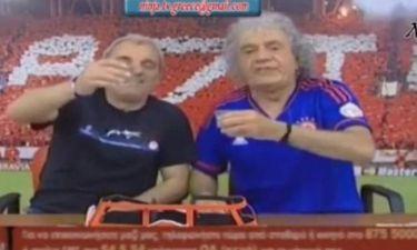 Επικό: Σουρωμένος ο Τάκης Τσουκαλάς μετά τον τελικό! (video)