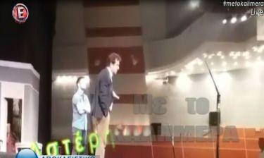 Κώστας Κόκλας: Η στιγμή που οι θεατές μαθαίνουν για το ισχαιμικό επεισόδιο