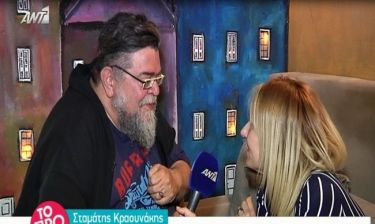 Κραουνάκης για Λαζόπουλο: «Δεν συμφωνώ που ξοδεύει το ταλέντο του τόσο συχνά στην τηλεόραση».