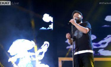 Τhe Χ-Factor: Ο Αλέξανδρος Πιτσάνης τραγουδά Παπάζογλου και «σκίζει»!