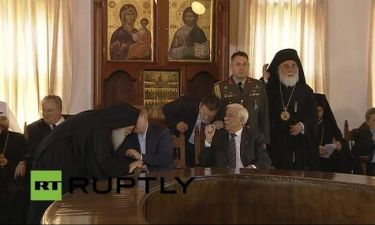 Επίσκεψη Πούτιν - Άγιον Όρος: Όταν ο Ρώσος πρόεδρος συνάντησε τον Γέροντα Εφραίμ