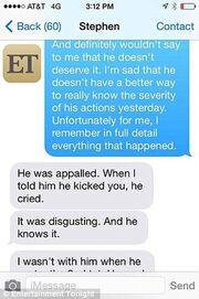 Στο φως της δημοσιότητας μηνύματα της Amber Heard που μιλούν για κακοποίηση από τον Depp