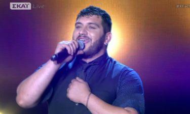 «The X-Factor»:  Πιλάτος Κουνατίδης: Το όνειρό του και ο Καρράς