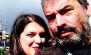 Νίκος Τριανταφυλλίδης: Το τελευταίο «αντίο» της συντρόφου του