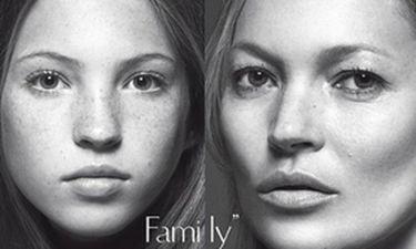 Το μήλο κάτω από τη μηλιά: Η Κέιτ Μος και η 13χρονη κόρη της στο εξώφυλλο της ιταλικής Vogue