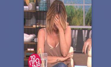 Το σέξι ατύχημα της Μαρίας Ηλιάκη on air