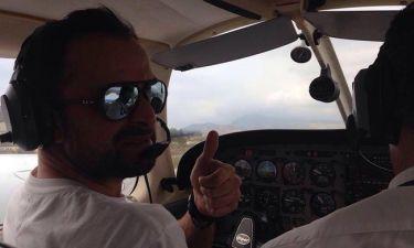 Γιώργος Λιανός: Πιλοτάρει αεροσκάφος σαν επαγγελματίας