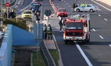 Τραγωδία στην Αττική Οδό - Οδηγός κάηκε ζωντανός μέσα στο όχημά του
