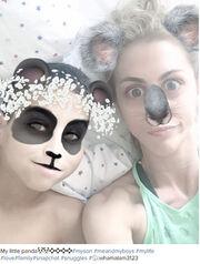 Ντορέττα Παπαδημητρίου: Η αστεία selfie με το γιο της