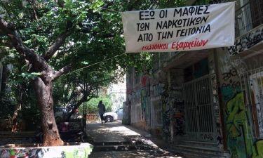 Τα Εξάρχεια δίνουν μάχη κατά των εμπόρων ναρκωτικών