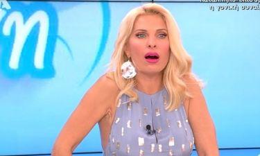 Τα έχασε η Ελένη Μενεγάκη on air με το τεχνικό πρόβλημα