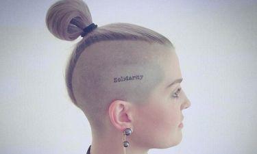 Kelly Osbourne:  Το τατουάζ στο κεφάλι για τα θύματα του Ορλάντο