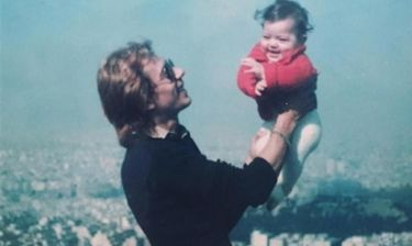 H συγκινητική φωτογραφία με τον πατέρα της