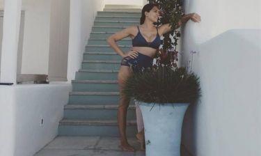 Τσιμτσιλή: Η φωτογραφία της με μπικίνι και ο ρόλος της... γλάστρας