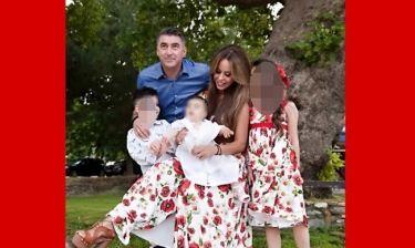 Ιωάννα Λίλη:  Η οικογενειακή φωτογραφία από τη βάφτιση που έγινε νονά με την κόρη της