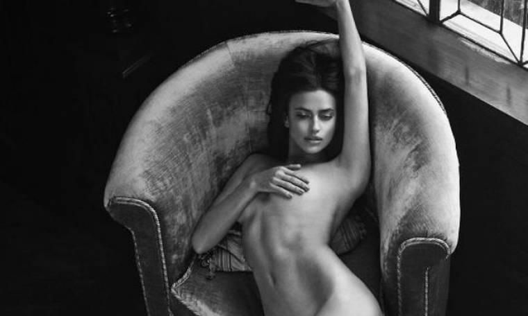 Κόλαση η Ιρίνα Σάικ. Ποζάρει γυμνή...