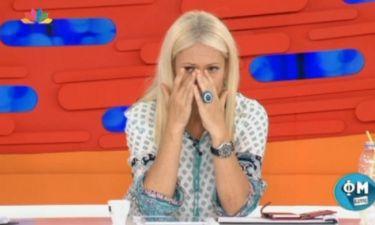 Η Μαρία Μπακοδήμου ξέσπασε σε κλάματα στον αέρα του ΦΜ Live! Τι συνέβη;