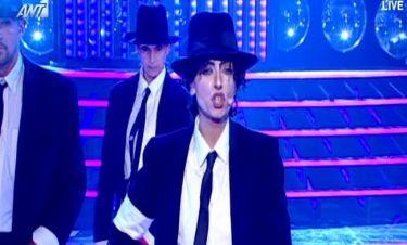 Ματθίλδη Μαγγίρα: Ως Michael Jackson στον τελικό του YFSF