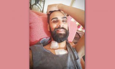 The X Factor: Στο σπίτι του o Γιώργος Στεφάνου μετά την επέμβαση ανοιχτής καρδιάς