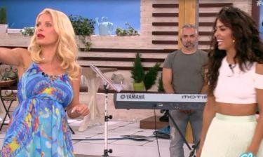 Ελένη:Ζήτησε από τη Φουρέιρα να της μάθει να λικνίζεται σέξι για προσωπική της χρήση! (Βίντεο)