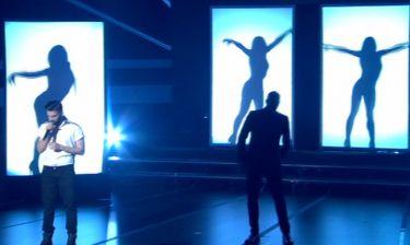 The X Factor: Ημιτελικός: Ανδρέας Λέοντας: Τραγούδησε με τον Βαλάντη και καταχειροκροτήθηκε