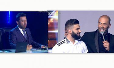 The X Factor: Η αντίδραση του Θεοφάνους στην ατάκα του Βαλάντη για τον Λέοντα: Είναι λίγο τεμπελάκος