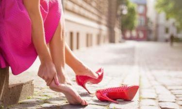 Φουσκάλες στα πόδια: Άμεση αντιμετώπιση σε 4 βήματα