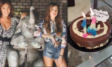 Η κόρη της Βάνας Μπάρμπα μεγάλωσε! Γιόρτασε τα 14α της γενέθλια