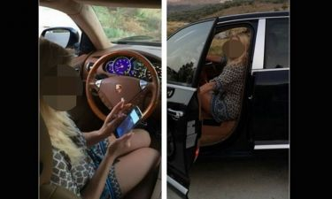 Η πρωταγωνίστρια της σειράς «Λάμψη» και το πολυτελές αυτοκίνητο