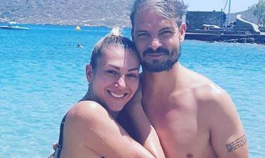 Άγγελος Χαριστέας: Διακοπές με τη σύζυγό του στην Κρήτη