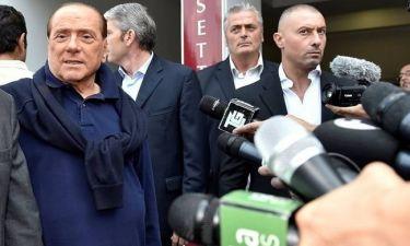 Αγνώριστος βγήκε από το νοσοκομείο ο Σίλβιο Μπερλουσκόνι (pic)