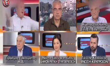 Το ξέσπασμα του Καμπουράκη:«Διάλειμμα το κέρατό μου!Θα το κλείσουμε το κανάλι που θα το κλείσουμε…»